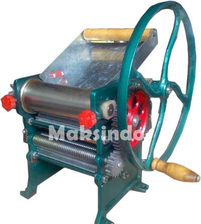 Jual Mesin Pencetak Mie Manual di Bandung