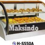 Jual Mesin Pastry Warmer (Hot Showcase) Penyaji Roti di Bandung
