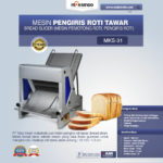 Jual Mesin Pengiris Roti Tawar (Bread Slicer) di Bandung