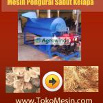 Jual Mesin Pengurai Sabut Kelapa di Bandung
