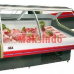 SPEKS Mesin Curve Glass Serve Counter