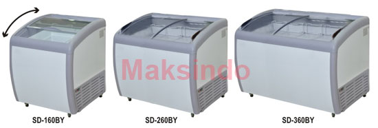 mesin-freezer-sliding-curve-glass-2-maksindobandung