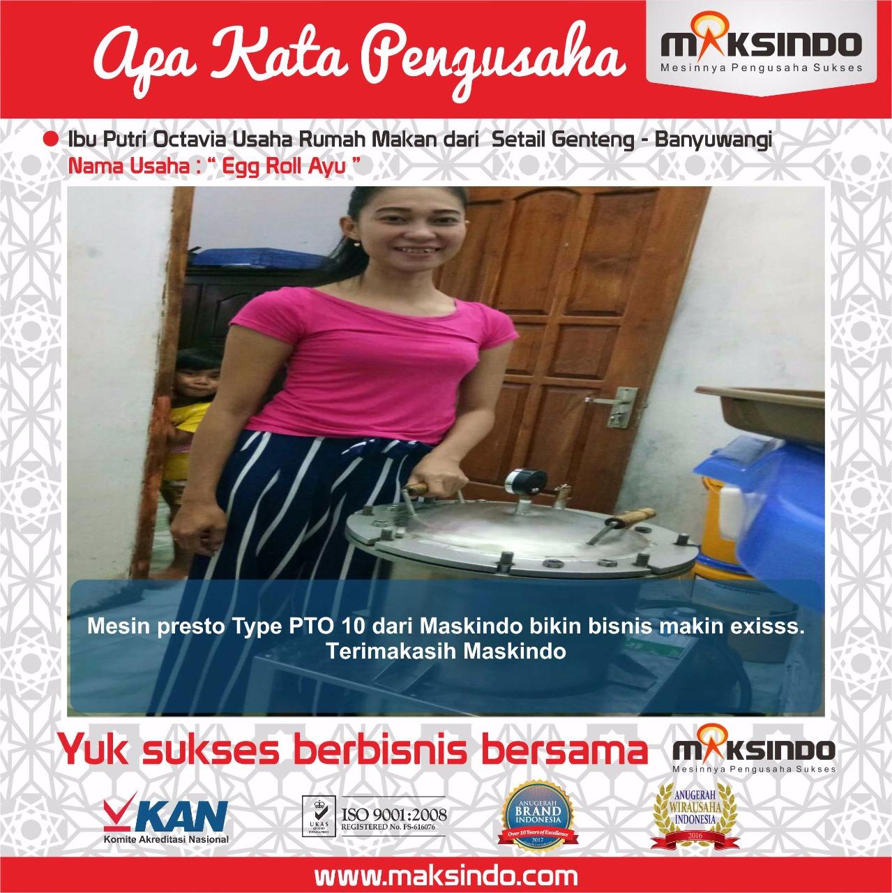 Jual Mesin Presto Stainless Steel Untuk Industri Di Bandung Toko Bandeng Box By Susenopresto