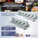 Jual Bain Marie Counter (Mesin Penghangat dan Pemajang Makanan Siap Saji) – TABLE di Bandung