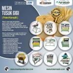 Jual Mesin Tusuk Gigi (paket komplit) di Bandung