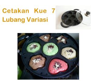 Jual Cetakan Kue 7 Lubang Variasi di Bandung