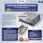 Jual Mesin Bain Marie Penghangat Makanan (EBM Type) di Bandung