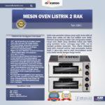 Jual Mesin Oven Listrik 2 Rak Harga Hemat (New) di Bandung