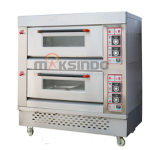 Jual Mesin Oven Roti Gas 1 Loyang (MKS-RS11) di Bandung