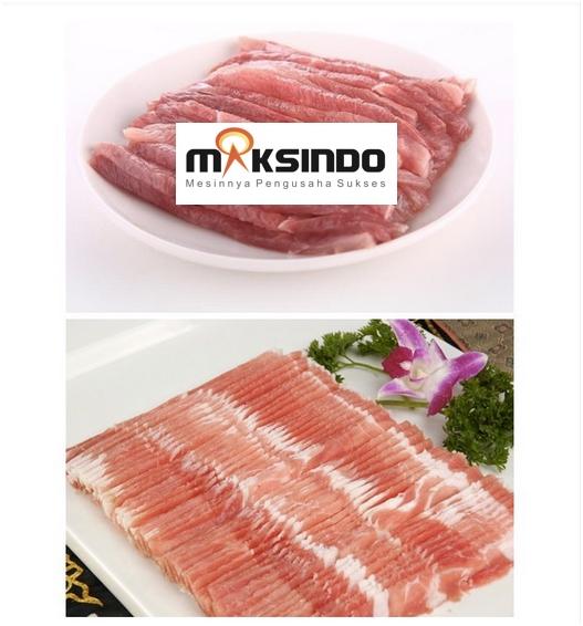 Produk Mesin Meat Slicer standing maksindobekasi