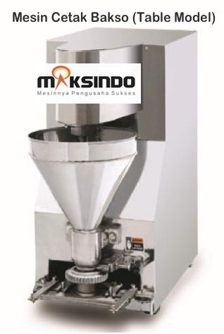 Mesin Cetak Bakso Mini MCB-200B maksindobandung