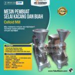 Jual Mesin Pembuat Selai Kacang dan Buah (Colloid Mill) di Bandung