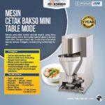 Jual Mesin Cetak Bakso Mini (Table Model) – MCB-200B di Bandung