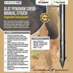 Jual Alat Penanam Sayur (Vegetable Transplanter) Stainless di Bandung