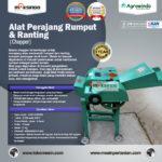 Jual Mesin Chopper Perajang Rumput Gajah & Sejenisnya AGR-CH200B di Bandung
