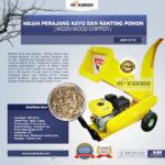 Jual Mesin Perajang Kayu Basah dan Ranting Pohon – AGR-CP15 di Bandung