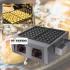 Mesin Takoyaki Baker 56 Lubang Mempercepat Produksi