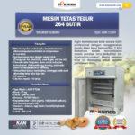 Jual Mesin Tetas Telur Industri 264 Butir (Industrial Incubator) di Bandung