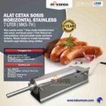 Jual Alat Cetak Sosis Horizontal Stainless 3 – 7 liter (MKS-3H) di Bandung