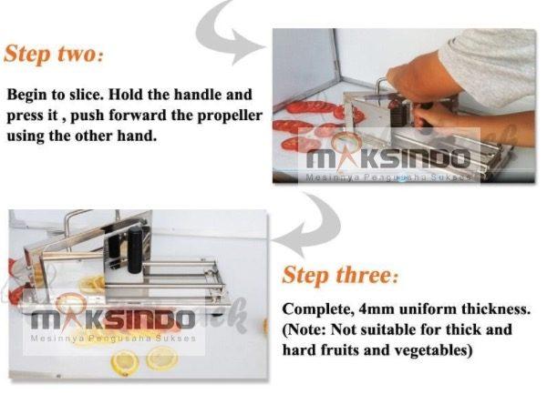 Alat Pengiris Tomat (MKS-TM5) 4
