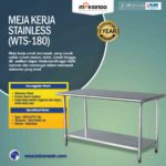 Jual Meja Kerja Stainless (WTS-180) di Bandung