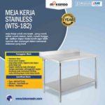 Jual Meja Kerja Stainless (WTS-182) di Bandung