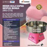 Jual Mesin Gula Kapas Bentuk Bunga (MKS-CT76) di Bandung