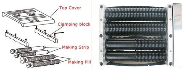 Mesin Pembuat Pill Bulat Herbal (FMS99) 5