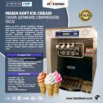 Jual Mesin Soft Ice Cream 3 Kran (Denmark Compressor) – ISC32 di Bandung