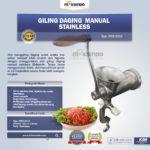 Jual Giling Daging Manual Stainless MKS-SG10 di Bandung