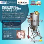 Jual Industrial Universal Blender 32 Liter di Bandung