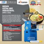 Jual Mesin Cetak Mie Industrial (MKS-350) di Bandung