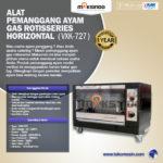 Jual Pemanggang Ayam Gas Rotisseries HORIZONTAL di Bandung