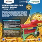 Jual Mesin Pengupas Jagung (Listrik) -JGU55 di Bandung