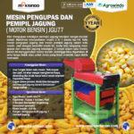 Jual Pengupas dan Pemipil Jagung (Motor Bensin)-JGU77 di Bandung
