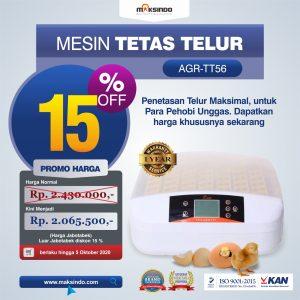 Jual Mesin Penetas Telur 56 Butir (AGR-TT56) di Bandung