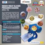 Jual Meat Slicer Pengiris Daging – MKS-70 di Bandung