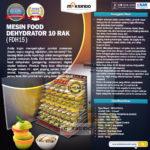 Jual Mesin Food Dehydrator 15 Rak (FDH15) di Bandung