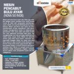 Jual Mesin Pencabut Bulu Unggas di Bandung