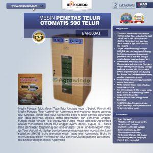 Jual Mesin Penetas Telur Otomatis Kapasitas 500 Telur (EM-500AT) di Bandung