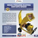 Jual Mesin Perajang Kayu Basah dan Ranting – CP07 di Bandung