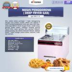Jual Mesin Gas Fryer 12 Liter 2 Tank (MKS-72B) di Bandung