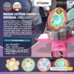 Jual Mesin Cotton Candy + Grobak di Bandung