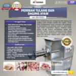 Jual Pemisah Tulang Dan Daging Ayam PTA-300 di Bandung