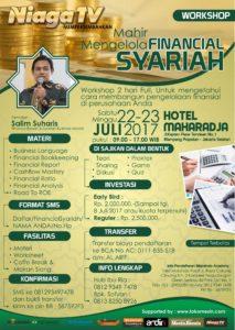 Workshop Mahir Mengelola Financial Syariah