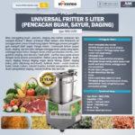 Jual Universal Fritter 5 Liter (MKS-UV5A) di Bandung