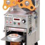 Jual Mesin Cup Sealer Full Otomatis Stainless (CPS-12A) di Bandung