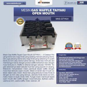 Jual Mesin Gas Waffle Taiyaki Open Mouth (GTYK31) di Bandung