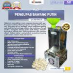 Jual Mesin Pengupas Bawang Putih (BWG180) di Bandung