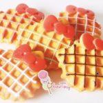 Jual Mesin Waffle Bentuk Hello Kitty (Kitty2) di Bandung